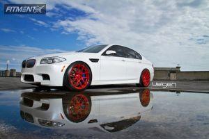 2013 BMW M5 - 20x9 15mm - Velgen VMB5 - Lowered Adj Coil Overs - 255/35R20