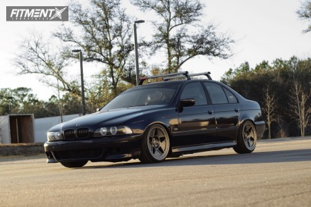 1998 BMW 540i - 19x9.5 20mm - Fifteen52 R43 - Coilovers - 225/35R19