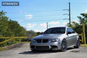 2009 BMW M3 - 20x9 18mm - Velgen VMB5 - Lowered Adj Coil Overs - 255/30R20