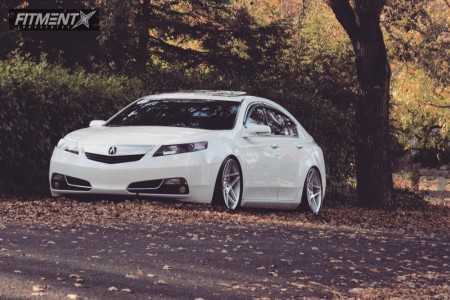 2012 Acura TL - 19x9.5 35mm - Whistler KR5 - Coilovers - 235/40R19