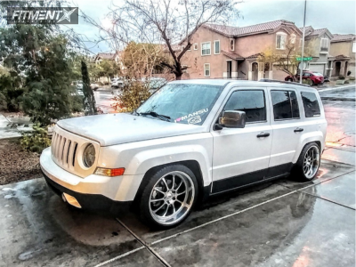2015 Jeep Patriot - 19x9.5 35mm - NS Ten - Coilovers - 245/35R19