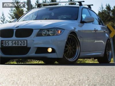 2009 BMW 3 Series - 19x8.5 30mm - Esr Sr05 - Coilovers - 225/35R19