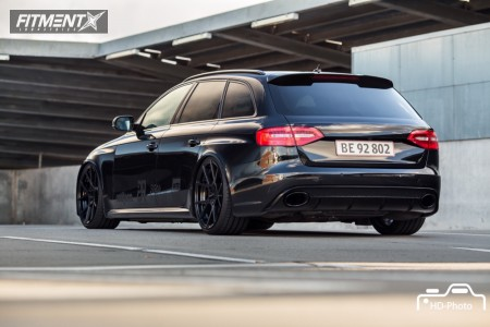 2013 Audi RS4 - 20x10 35mm - Rotiform Kps - Coilovers - 255/30R20