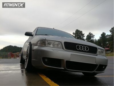 2000 Audi S4 - 19x8.5 35mm - Rotiform Ind-t - Coilovers - 235/35R19