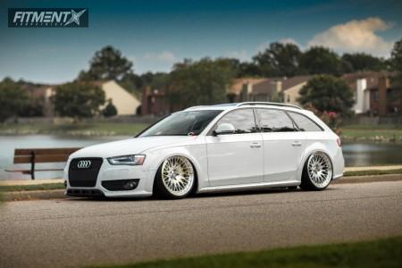 2013 Audi Allroad Quattro - 20x10.5 15mm - VIP Modular Vrc110 - Air Suspension - 255/30R20