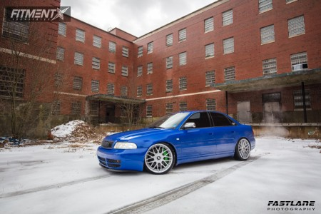 2002 Audi S4 - 19x8.5 35mm - Rotiform Rse - Coilovers - 225/35R19