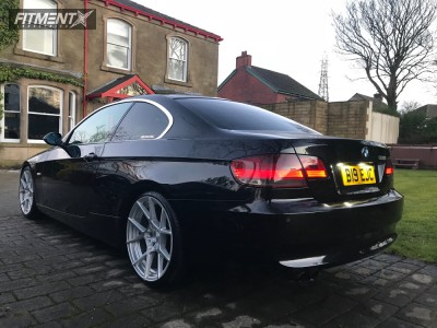 2007 BMW 325i - 19x8.5 40mm - Rotiform Kps - Coilovers - 235/30R19