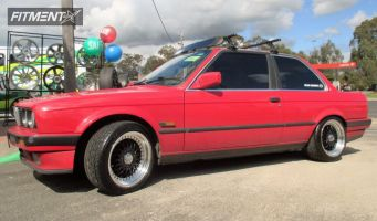 1987 BMW 325i - 16x8 20mm - Replica Rs - Lowered on Springs - 205/50R16