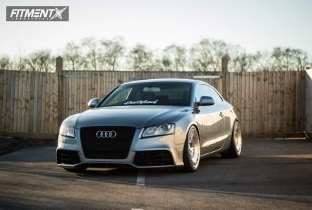 2009 Audi A5 - 19x10 35mm - Rotiform Ccv - Coilovers - 245/35R19