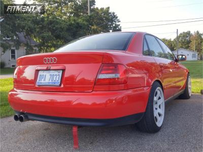 2001 Audi A4 Quattro - 17x9 42mm - Rota Grid - Coilovers - 225/45R17
