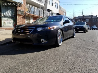 2011 Acura TSX - 19x8.5 45mm - Work Ls207 - Coilovers - 225/35R19