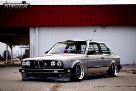 1985 BMW 325 - 16x9.5 27mm - Epsilon Southern Ways - Air Suspension - 205/40R16
