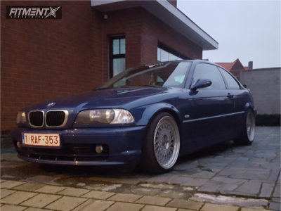 2000 BMW 318i - 18x8.5 35mm - Avant Garde M220 - Coilovers - 225/35R18