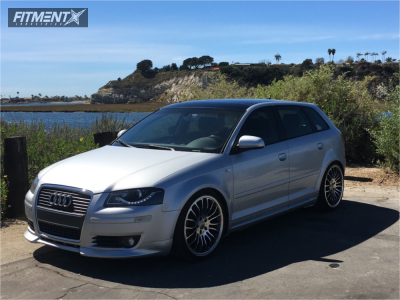2008 Audi A3 - 19x8 45mm - Claus Ettensberger  - Lowering Springs - 235/35R19