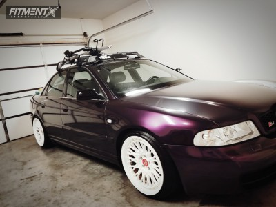 2001 Audi S4 - 18x9.5 35mm - VIP Modular Vrc110 - Coilovers - 215/40R18