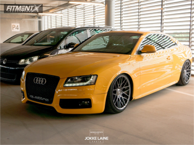 2008 Audi A5 - 19x10 25mm - Rotiform Rse - Coilovers - 255/35R19