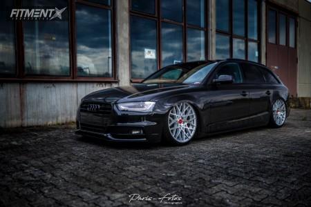 2014 Audi A4 - 20x8.5 35mm - Rotiform Blq - Air Suspension - 245/30R20