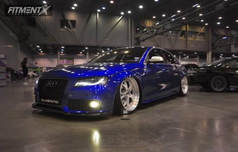 2010 Audi A4 Quattro - 20x10 37mm - Omni Concept  - Air Suspension - 245/35R20