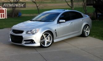 2014 Chevrolet SS - 19x8.5 35mm - Niche Milan - Lowered on Springs - 245/40R19