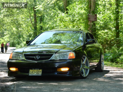 2002 Acura TL - 19x8.5 30mm - STR 607 - Coilovers - 215/35R19
