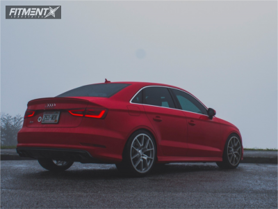 2015 Audi S3 - 19x9 49mm - Neuspeed Rse10 - Lowering Springs - 245/35R19