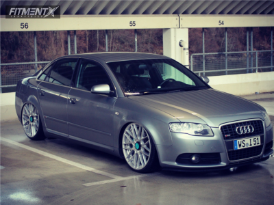 2007 Audi A4 - 20x8.5 35mm - Rotiform Rse - Coilovers - 225/30R20