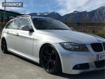2010 BMW 320i - 19x10 40mm - Rotiform Kps - Coilovers - 215/35R19