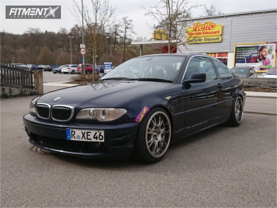 2003 BMW 325 - 18x9.5 35mm - BBS Ch - Coilovers - 225/45R18