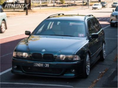 1997 BMW 525i - 18x9.5 25mm - Rotiform Las-r - Coilovers - 235/30R18