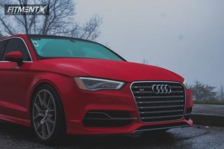 2015 Audi S3 - 19x9 40mm - Neuspeed Rse10 - Lowering Springs - 245/35R19