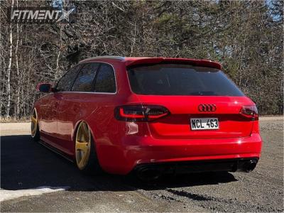 2014 Audi A4 - 19x10 35mm - Rotiform Tmb - Air Suspension - 235/35R19