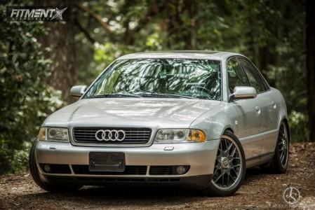 2000 Audi A4 Quattro - 18x8 43mm - BBS Rsii - Coilovers - 225/40R18