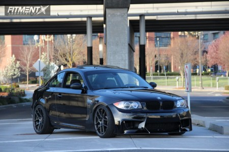 2009 BMW 135i - 19x8.5 35mm - Avant Garde M510 - Coilovers - 265/35R19