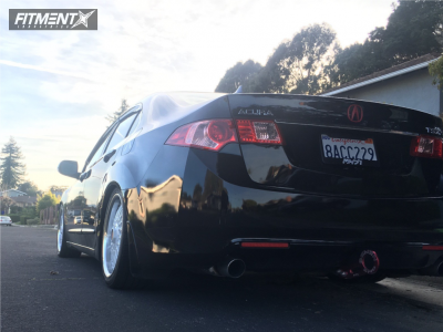 2014 Acura TSX - 18x8 35mm - Axe Ex10 - Coilovers - 235/40R18