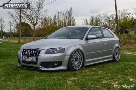2007 Audi S3 - 19x8.5 35mm - Rotiform Las-r - Air Suspension - 215/35R19