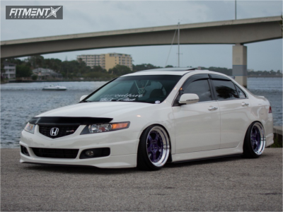 2006 Acura TSX - 18x9.5 8mm - CCW LM5 - Coilovers - 215/35R18