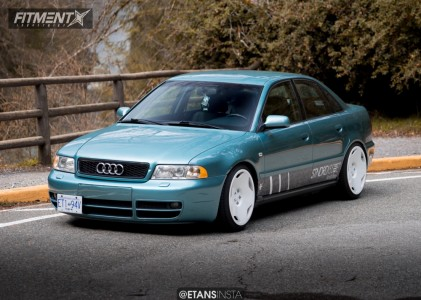 1999 Audi A4 - 18x9 40mm - VSP Type2 - Coilovers - 215/40R18