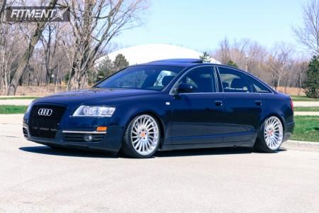 2007 Audi A6 Quattro - 19x8.5 35mm - 3SDM 0.04 - Coilovers - 225/35R19
