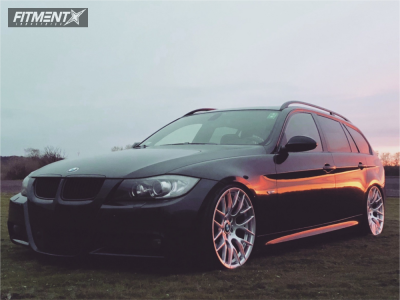 2007 BMW 335is - 19x9 18mm - Avant Garde M359 - Coilovers - 225/35R19