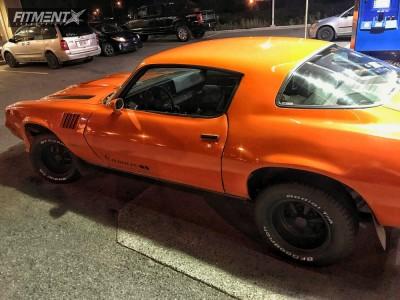 1980 Chevrolet Camaro - 15x7 0mm - Cragar 61 Ss - Stock Suspension - 265/45R15