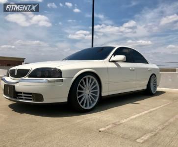 2002 Lincoln MKS - 20x8.5 40mm - Niche Form - Coilovers - 235/35R20