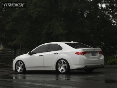 Tsx Acura Bc Racing Coilovers Rotiform Tmb Silver