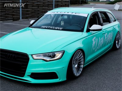 2013 Audi A6 - 19x10 35mm - Rotiform Ind - Coilovers - 225/35R19