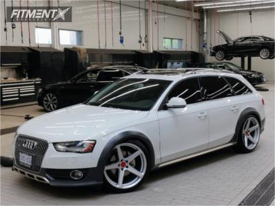 2014 Audi allroad - 20x10 30mm - Vorsteiner  - Coilovers - 255/35R20