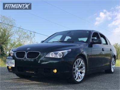 2005 BMW 530i - 19x8.5 30mm - ESR Sr12 - Stock Suspension - 245/35R19