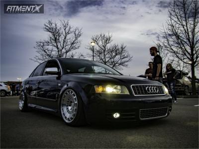 2004 Audi S4 - 18x9.5 25mm - Rotiform Ccv - Coilovers - 215/40R18
