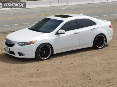 2012 Acura TSX - 19x10 35mm - HRE  - Coilovers - 235/35R19
