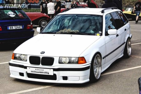1999 BMW 318is - 17x8.5 13mm - Rondell  - Coilovers - 195/40R17