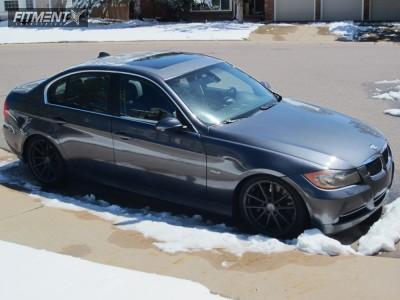 2007 BMW 335xi - 18x8.5 35mm - TSW Bathurst - Coilovers - 225/40R18