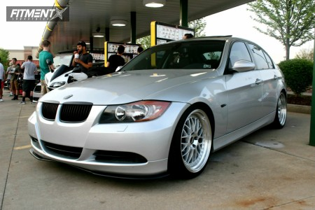 2006 BMW 325xi - 19x8.5 30mm - BBS Lm - Coilovers - 235/30R19